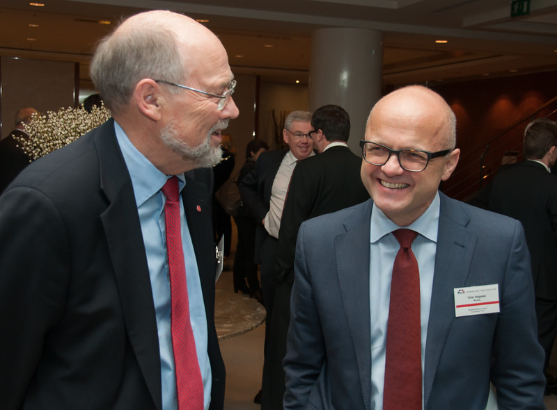 Mr Svein Roald Hansen, MP Labour Party, Norway and  Mr Vidar Helgesen, Minister of EEA and EU Affairs at the Office of the Prime Minister of Norway