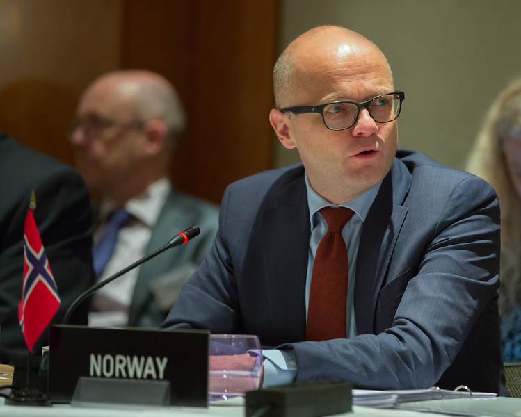Mr Vidar Helgesen, Minister of EEA and EU Affairs at the Office of the Prime Minister of Norway (Chair)