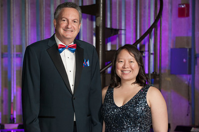 Honoree Stephani S. Yee, C'08 and presenter Allan C. Bell, Esq., C'81.