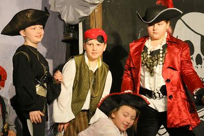 IMG_9001 evan vivian, nick champine, allie tarleton as pirates and alison Van Alstyne as capt hook