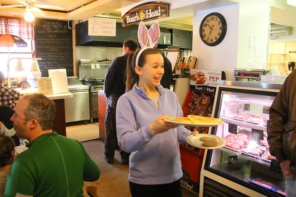 Easter Egg Hunt, Barnard General Store