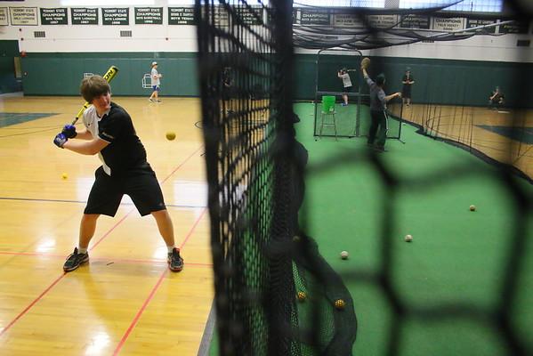 WUHS Baseball Practice, Preseason
