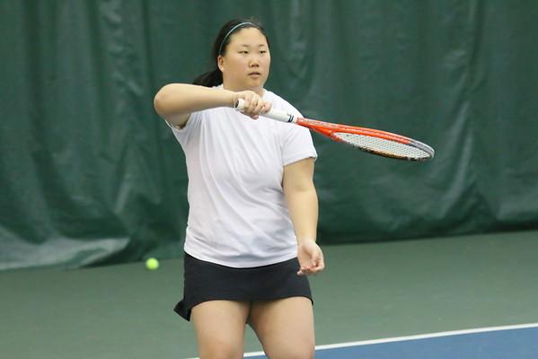 WUHS Girls Tennis Team Practices
