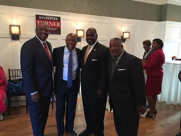 Sylvester Turner Fundraiser for the Mayorship of Houston