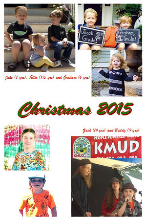 2015 Christmas Card Pictures