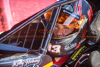 Hebing, Kelly in car 2015 (1 of 1)