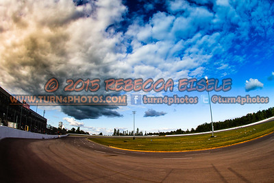 Clouds Over the Frontstretch