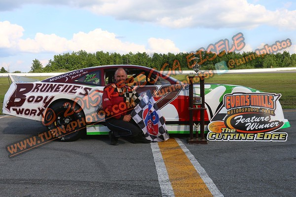 Brunelle, Randy Makeup feature win - 1