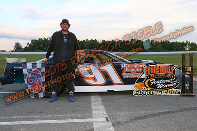 Bancroft Dylan June 20 Super stock series win - 2