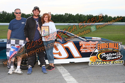 Bancroft Dylan June 20 Super stock series win - 3