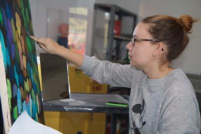Art Class, Painting