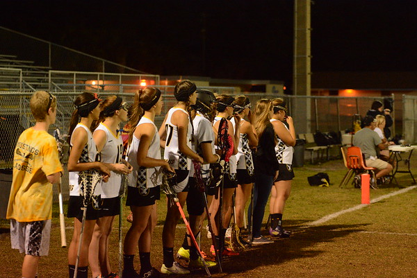 Girls Lacrosse vs the Rock 4/9/2015
