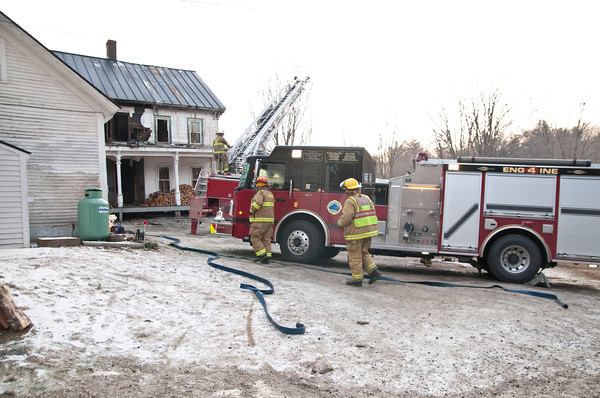 Green Dragon Farm Fire, Weathersfield