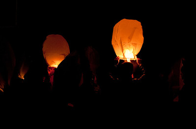 SOS Paper Lantern Launch
