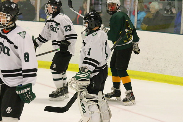 WUHS Boys Hockey vs B&B, 2015