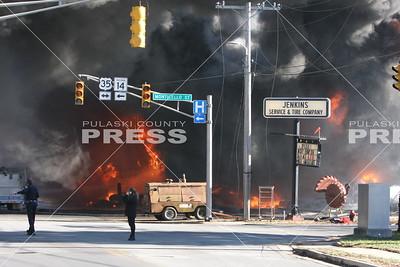 Jenkins Tire Service Fire