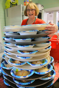 IMG_1974 dawn Gieseke, who made 479 biscuits for the supper
