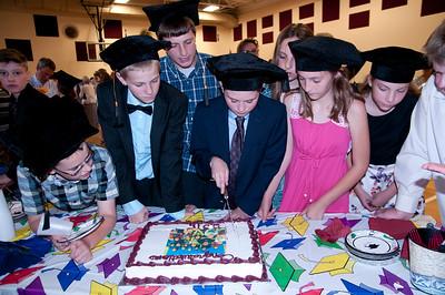 Albert Bridge School Graduation Class of 2015