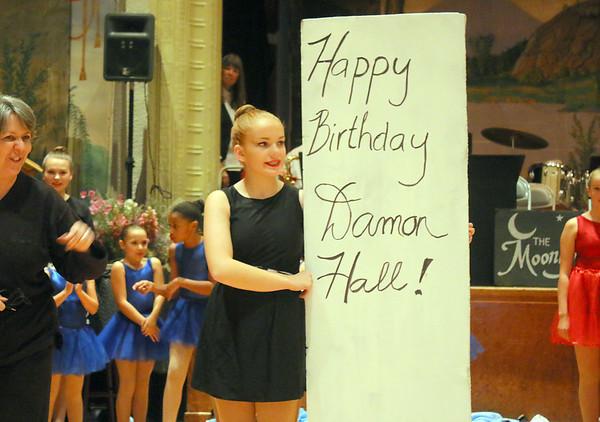 Damon Hall, Celebrates 100 Years