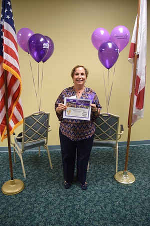 Broward Walk to End Alzheimer's award ceremony 2015