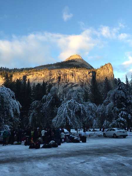Tessa and the 8th grade class spend a week in Yosemite