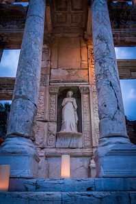 Ephesus at Night