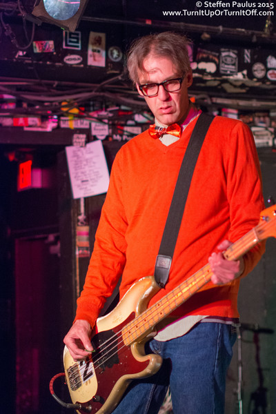 The Muffs @ Horseshoe Tavern, Toronto, ON, 28-March 2015