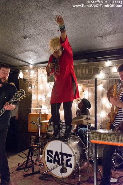 SATE @ Dakota Tavern, Toronto, ON, 19-April 2015