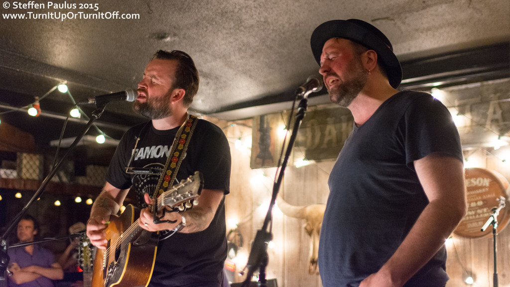 Dennis Ellsworth joins Leeroy Stagger @ Dakota Tavern, Toronto, ON, 18-June 2015