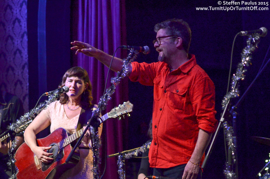 Andy Maize (Skydiggers) joining Oh Susanna and Friends @ The Great Hall, Toronto, ON, 2-December 2015