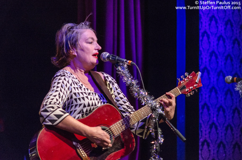 Jane Siberry performing with Oh Susanna and Friends @ The Great Hall, Toronto, ON, 2-December 2015