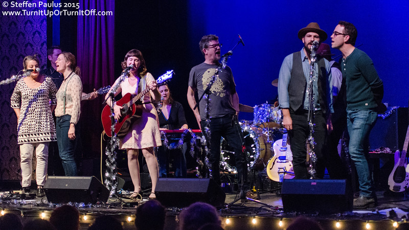 Grande finale with Oh Susanna and Friends @ The Great Hall, Toronto, ON, 2-December 2015