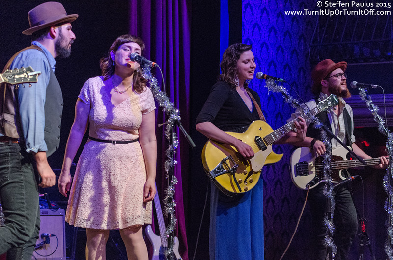 Colleen Brown and Ben Kunder performing with Oh Susanna and Friends @ The Great Hall, Toronto, ON, 2-December 2015