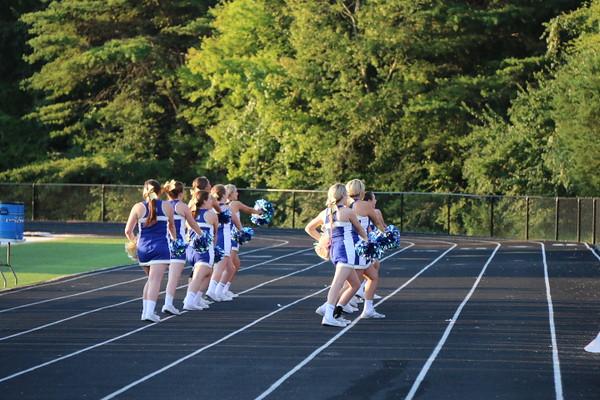 2015-2016 Livingston Academy Cheerleaders