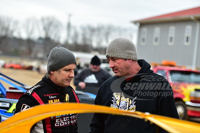 Billy Ogle Jr. and Mark Leach