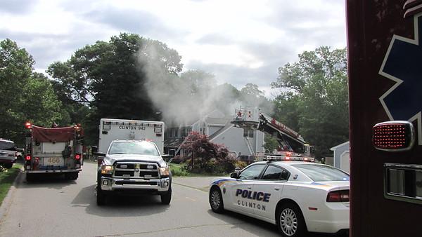 6/20/2015 Structure Fire Clinton