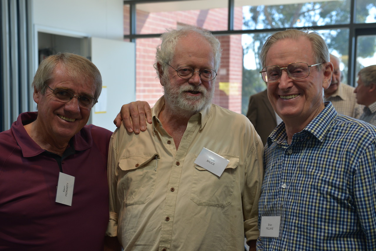 (L to R) Kevin Moriarty, Peter Bruce, Brian Millane