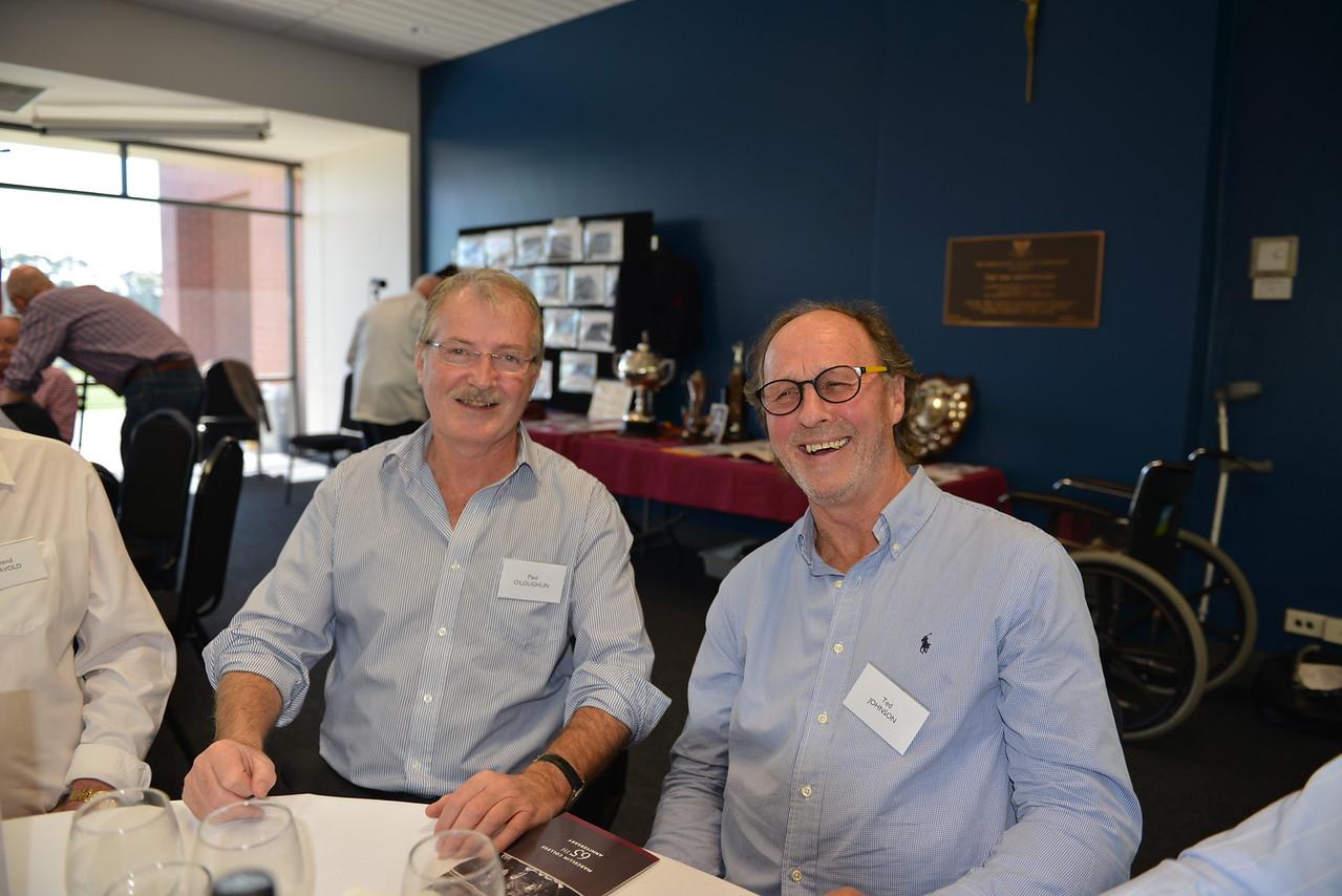 (L) Paul O'Loughlin, Ted Johnson