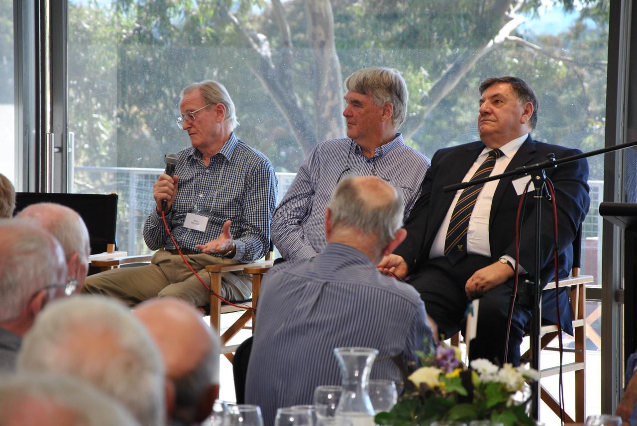 (L to R) Brian Millane, Richard Olive, Angelo Vasta