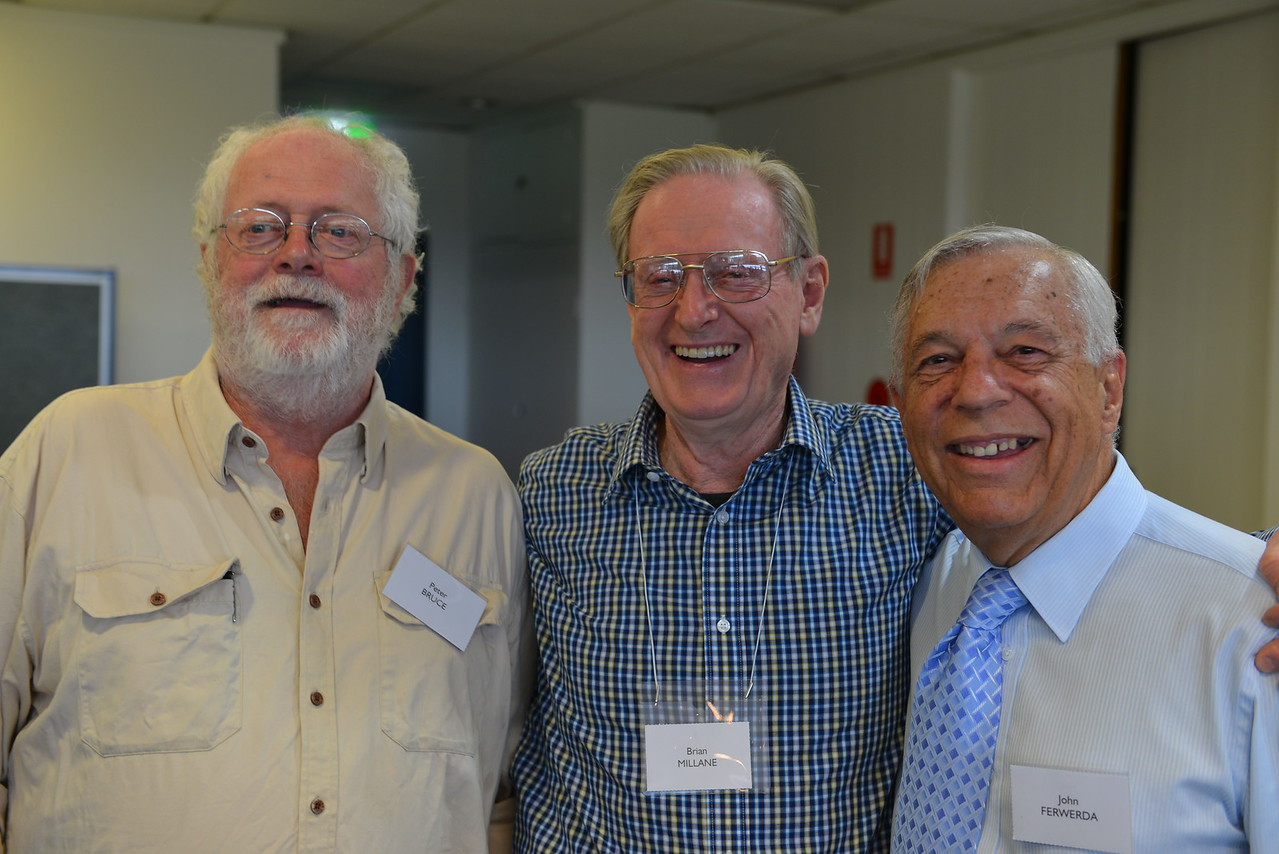 (L to R) Peter Bruce, Brian Millane, John Ferwerda