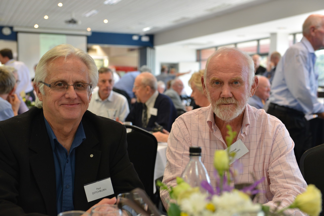 (L) Paul Ditchburn, Michael O'Sullivan
