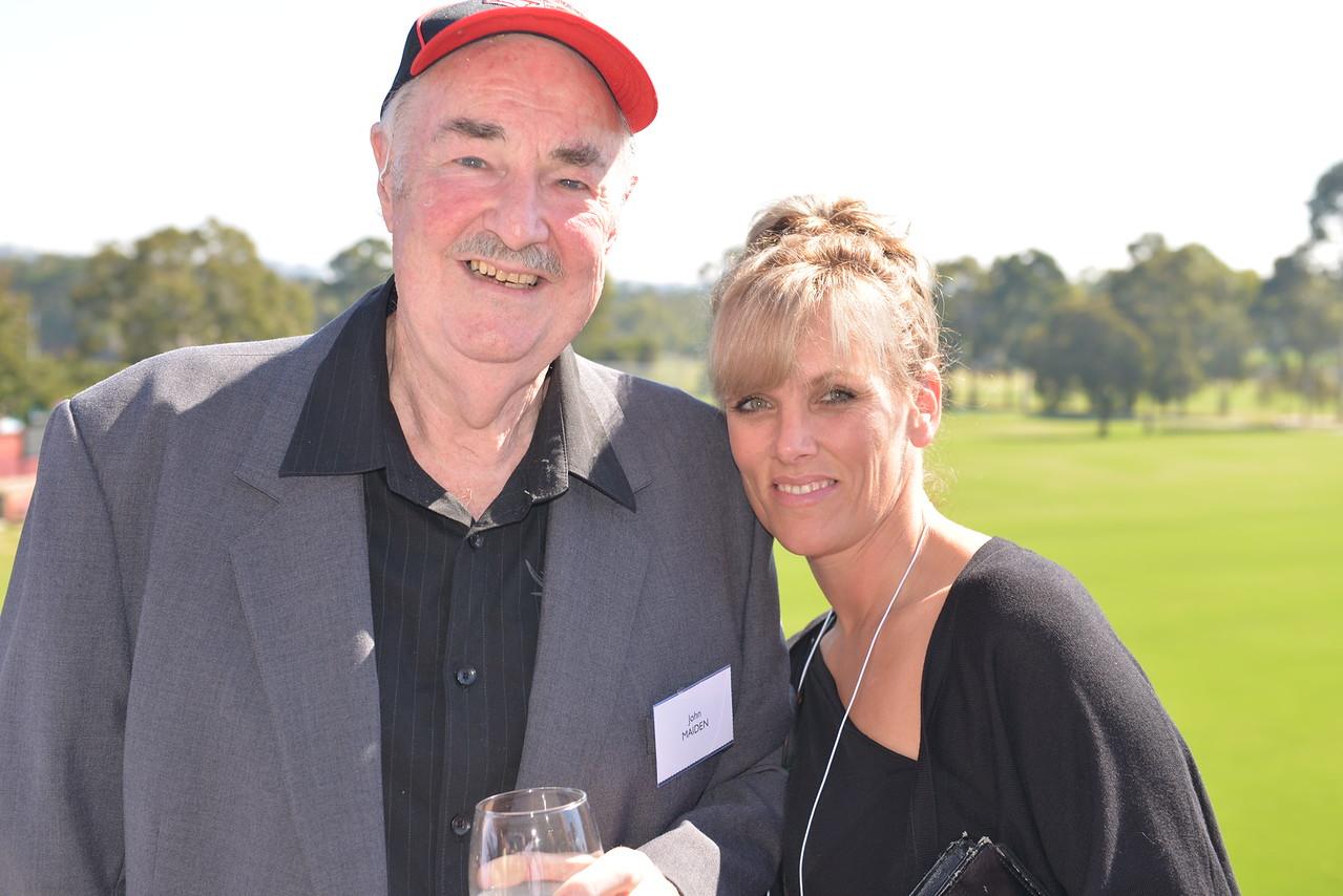 (L) John Maiden with Daughter Sue Maiden-Lee