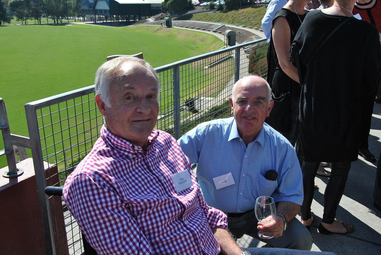 (L) Peter Ruddock, Terry Dynes