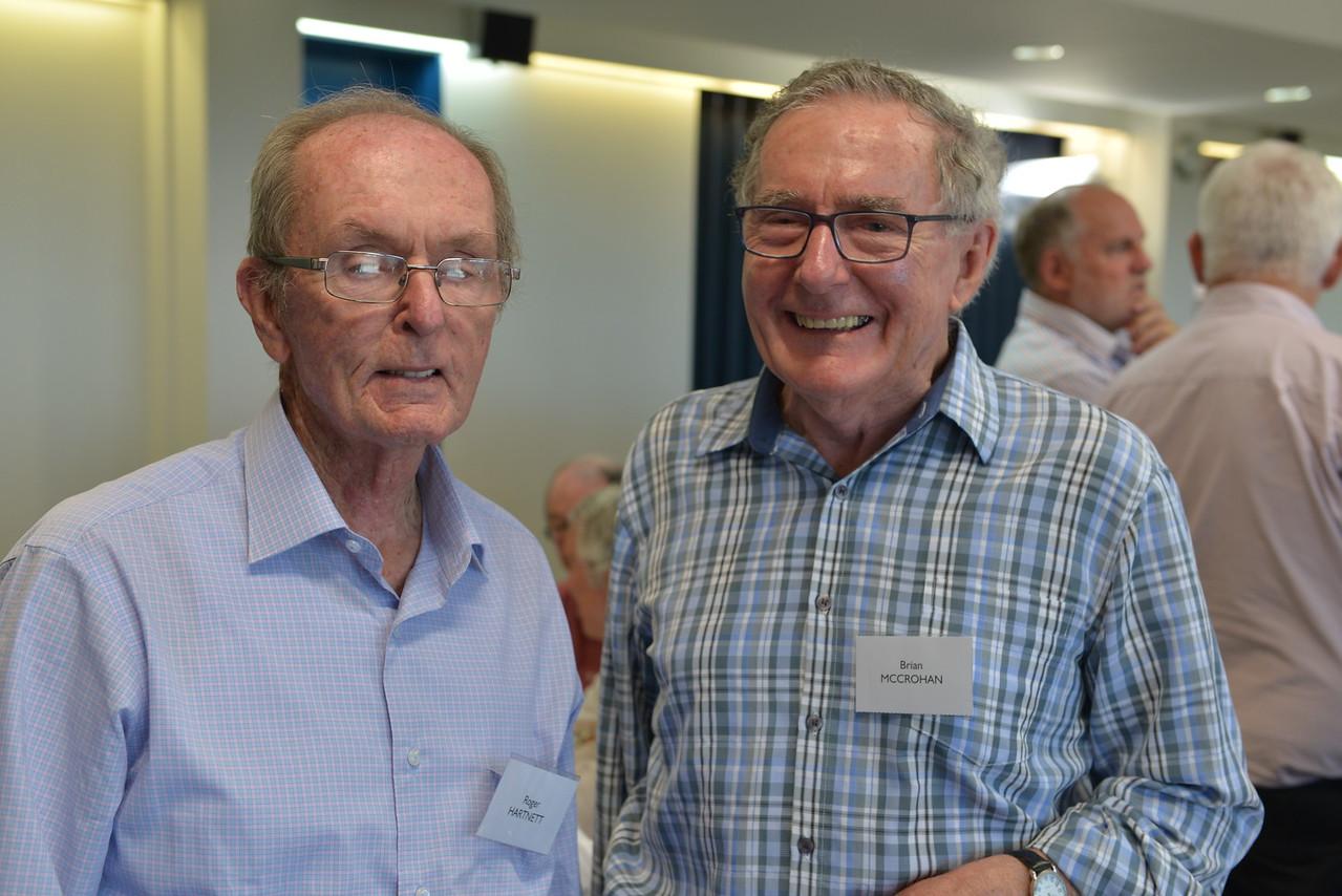 (L) Roger Hartnett, Brian McCrohan