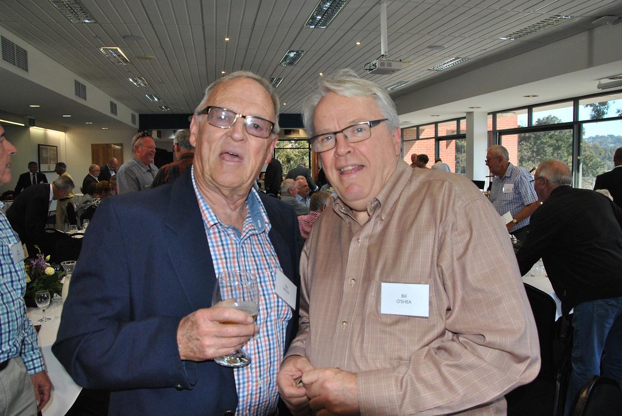 (L) Ray Walsh, Bill O'Shea