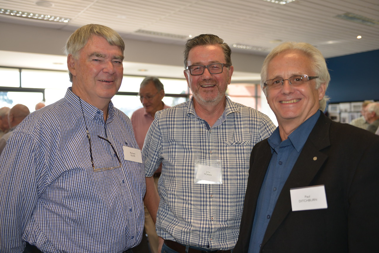 (L to R) Richard Olive, John Moran, Paul Ditchburn