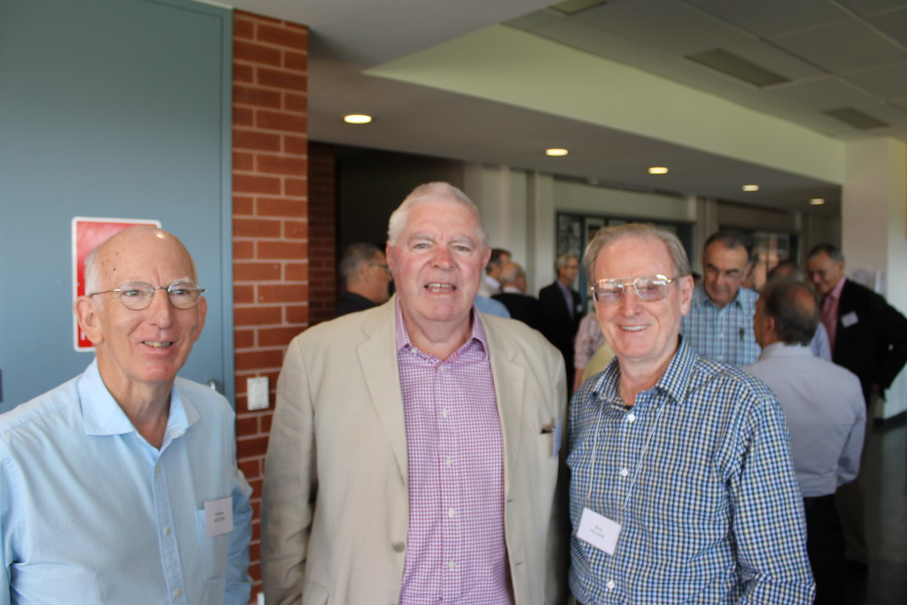 (L to R) Graeme Watson, Denis Groves, Brian Millane
