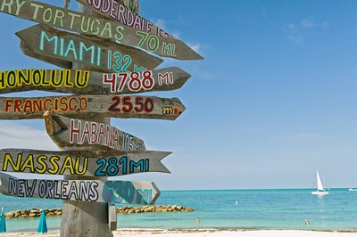 Florida Keys Directional Sign, Florida Keys Best Buys