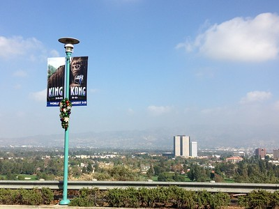 Views Over Studio City From Universal Studios Hollywood