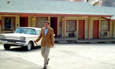 Norman Bates and the Bates Motel at Universal's Backlot Studio Tour